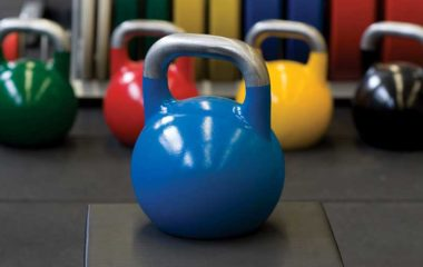 Kettle-Bells workout in k-fit Mumbai India